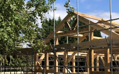 Barn Wedding Venue – Oak Frame Build